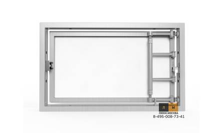 Алюминиевый люк под плитку «АРЗ» 400х250