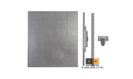 Съемный, нажимной люк под плитку 400х450 (серия ЛПП)