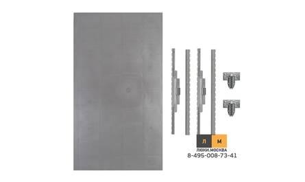 Съемный, нажимной люк под плитку 700х400 (серия ЛПП)
