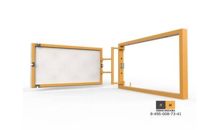 Ревизионный люк под плитку (серия Р) 400х250