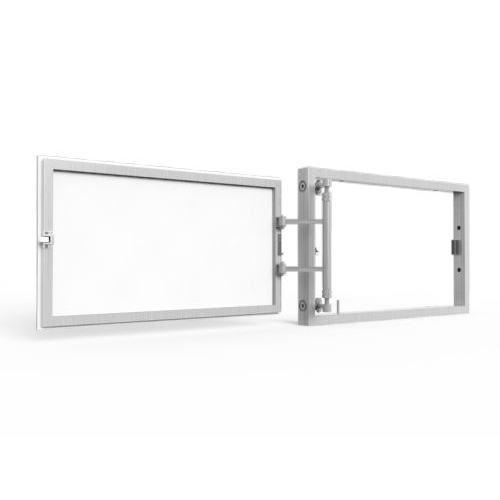 Алюминиевый люк под плитку «АРЗ» 500х400