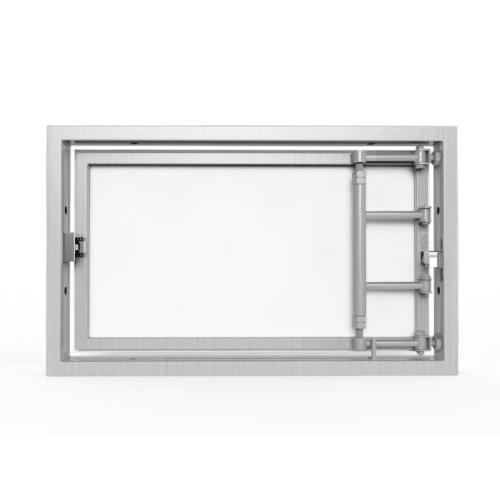 Алюминиевый люк под плитку «АРЗ» 500х300