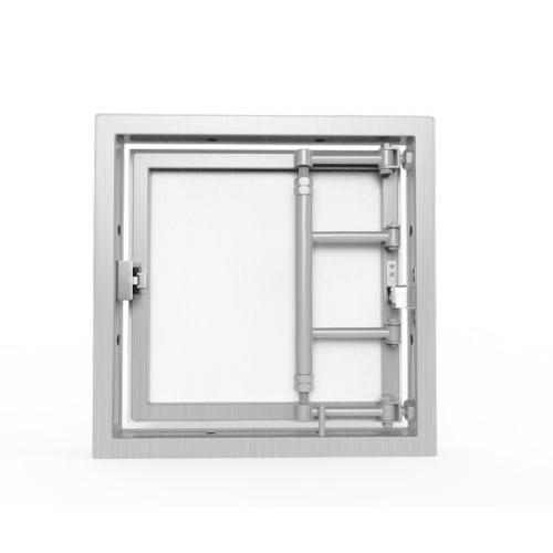 Алюминиевый люк под плитку «АРЗ» 400х400