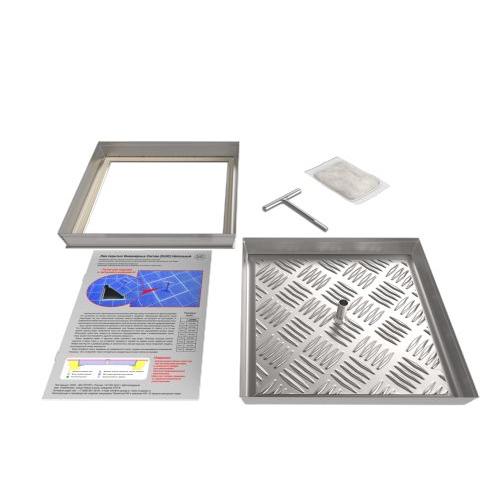 Съемный напольный люк (серия ЛН) 750Х750