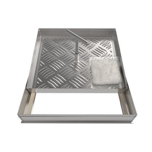 Съемный напольный люк «Шлюз» (серия ЛН) 600Х600