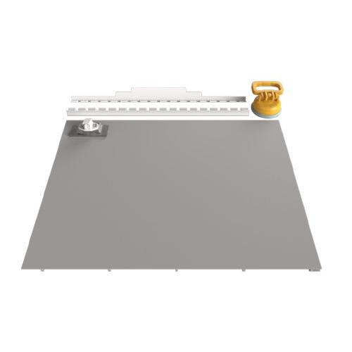 Съемный люк под плитку 450х400 (серия ЛП)