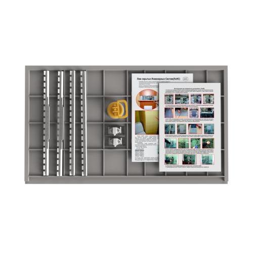 Съемный люк под плитку 700х400 (серия ЛП)